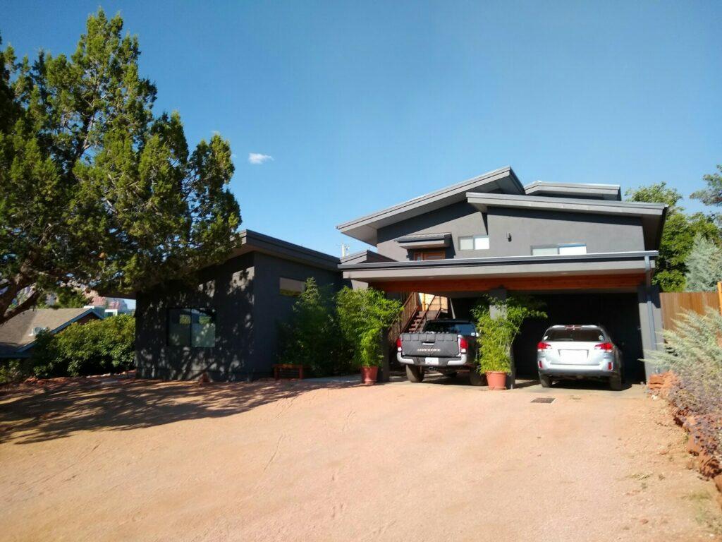 Oak Creek Blvd Sedona Home and Guest house